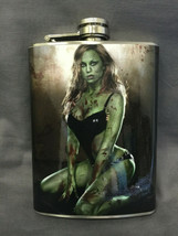 3RD Zombie D1 Flask 8oz Stainless Steel Drinking Whiskey Clearance item - $9.90