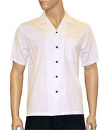Men's White (Ivory) Hawaiian Wedding Shirt Short Sleeve Rayon S-3xl Lehu... - $67.60 CAD+