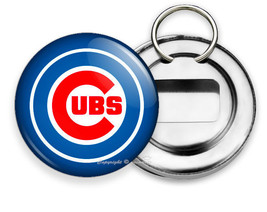 New Chicago Cubs Baseball Team Beer Bottle Opener Keychain Key Fob Fan Gift Idea