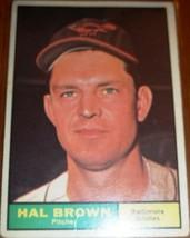 1961 Hal Brown #218 Baseball Cardd (Topps) - $1.68