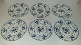 """Johnson Brothers Ironstone Indies Blue China 9 3/4"""" Dinner Plate – Set of 6 - $54.00"""