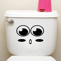 big mouth toilet stickers wall decorations 342. diy vinyl adesivos de pa... - £4.68 GBP