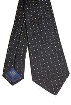 New Polo Ralph Lauren Men's Polka Dot Neck Tie BLACK $125 100% Silk - $59.83