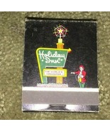 VINTAGE MATCHBOOK COMPLETE HOLIDAY INN SCHENECTADY N.Y. - $1.98