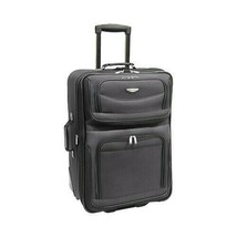 """Travel Select Gray Amsterdam 25"""" in Expandable Rolling Upright Luggage S... - $29.70"""