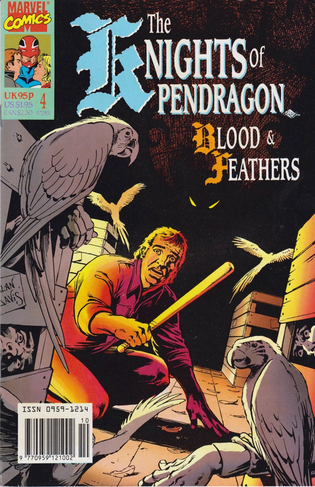 Knight Of Pendragon #4 [Comic] [Jun 01, 1990] No information available at the...