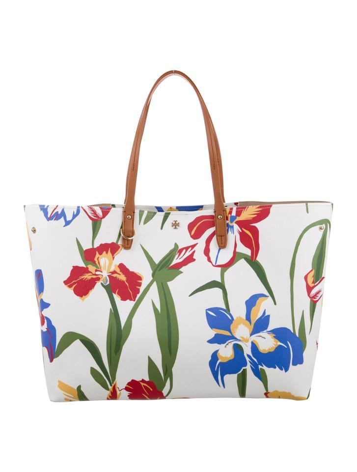 Primary image for Tory Burch  Kerrington Square Canvas Tote shoulder bag