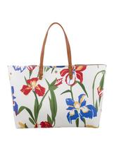 Tory Burch  Kerrington Square Canvas Tote shoulder bag - $229.00