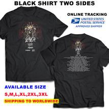 Slayer 2018 Final World Tour Nice Shirt F2,BLACK Color,Sizes S-3XL Radio - $11.00+