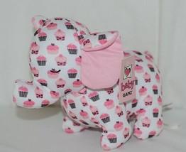 Baby Ganz Brand BG3192 Pink And Brown Ooh La La Plush Cupcake Elephant image 1
