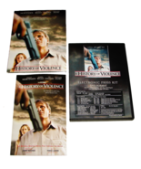 2 2005 A HISTORY OF VIOLENCE Movie Digital PRESS KITS CD-ROM and Color B... - $11.99
