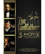 The Godfather  ( DVD ) 3 Movie Collection  - $14.98