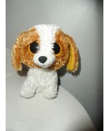 TY Beanie Boos COOKIE the Brown Dog Solid Eye Color 6 inch New - $2.97