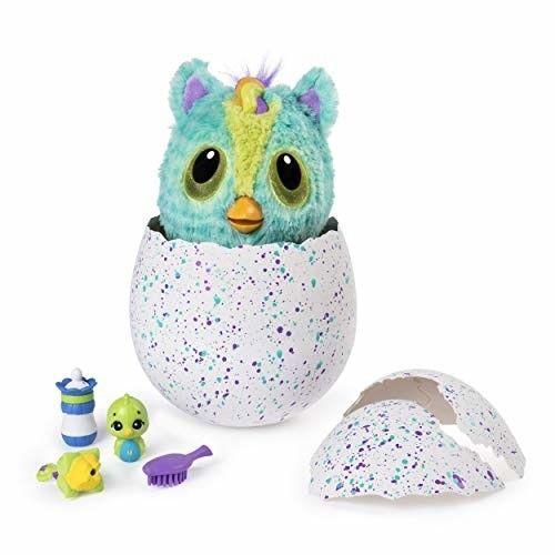 Hatchimals HatchiBabies Ponette Hatching Egg with Interactive Pet Baby (Styles M