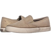 Sperry Top-Sider Mariner Slip On Sneakers 847, Natural Sparkle, 6.5 US / 37 EU - $35.51
