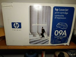 NEW HP 09A  LaserJet Print Toner Cartridge C3909A. Damaged Box - $48.51
