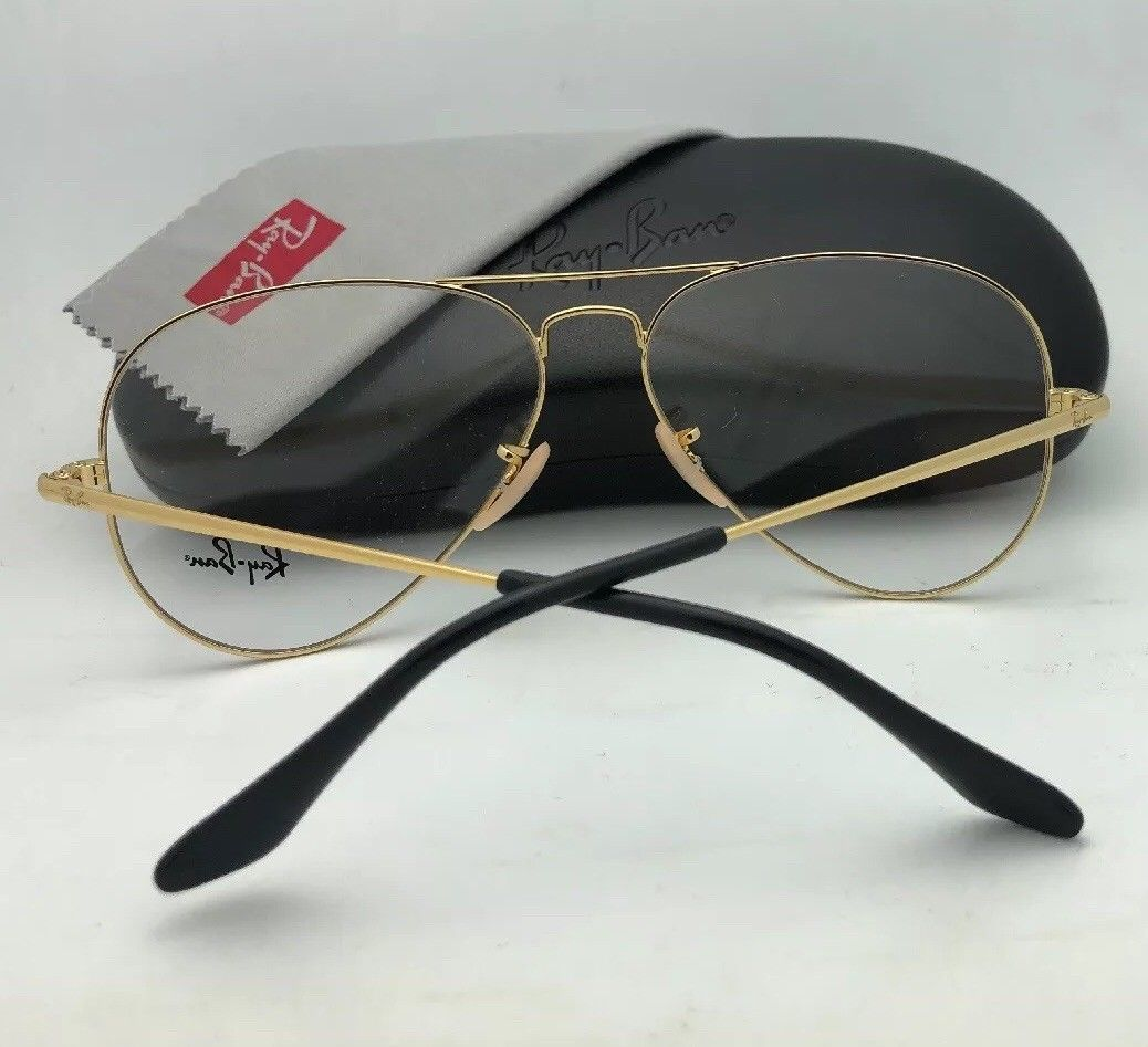 0029faad7ecf5 New RAY-BAN Aviator Rx-able Eyeglasses RB and 50 similar items