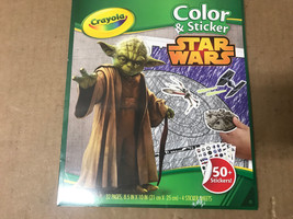 Crayola Color And Sticker Star Wars - New - Factory Sealed - $6.92
