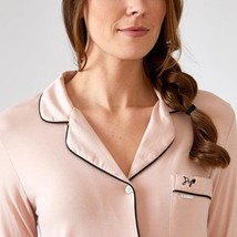 Pretty You London Womens Bamboo Nightshirt Pink - Large - $70.00