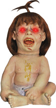 Prized Possession Animated Halloween Prop HEAD SPINNING Talking Doll Dec... - €74,13 EUR