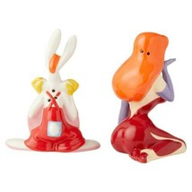 Who Framed Roger Rabbit with Jessica Ceramic Salt & Pepper Shakers Set NEW BOXED image 2