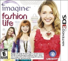 Imagine: Fashion Life (Nintendo 3DS, 2012) NEW Video Game - $15.55