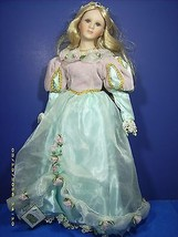"""COLLECTIONS ETC. PORCELAIN 18"""" DOLL PRINCESS  NEW CONDITION--TAG ATTACHED. - $27.72"""