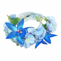Women Handmade Flower Hairband Crown Wedding Wreath Bridal - $30.60