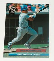 1992 fleer ultra #139 Ivan rodriguez texas rangers rc rookie hof nm card - $9.20