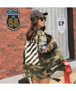 Streetwear Army Green Printed Camouflage Jacket - $64.99+