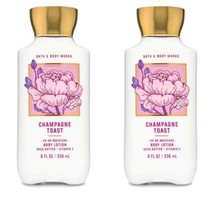 BATH AND BODY WORKS Champagne Toast Body Lotion x2 - $27.00