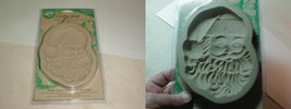 Vintage 1997 wilton cookie mold MOC New Santa Christmas Holiday - $22.00