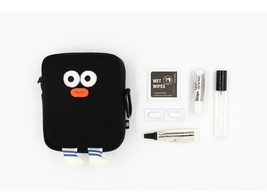 Brunch Brother Big Compact Makeup Cosmetic Airpods Pouch Bag Case Keyring image 12