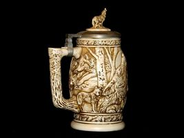1997 Wolf Stein with lid AB 241 Vintage image 3