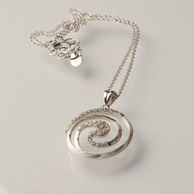 925 Silver Necklace Laminate Yellow Gold, Rhodium by Maria ielpo Made in Italy image 2
