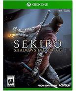 Sekiro Shadows Die Twice - Xbox One [video game] - $30.82