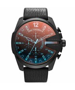 DIESEL DZ4323 Mega Chief Chronograph Black Dial Men's Watch - £174.42 GBP