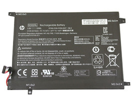 HP Pavilion X2 10-N140NF W6X60EA Battery DO02XL 810985-005 HSTNN-DB7E HS... - $49.99