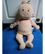 "Manhattan Toy Plush Baby 14"" Tall In Yellow Diaper Stuffed Toy - $6.09"