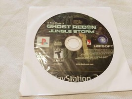 Tom Clancy's Ghost Recon Jungle Storm Game PS2 Playstation 2 - GAME DISC... - $4.95