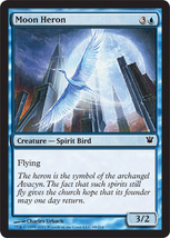 Magic The Gathering-Innistrad-Moon Heron  - $0.05