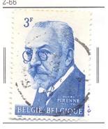 BELGIUM USED STAMP 3F 1968 HENRI PIRENNE PORTRAIT PAINTING A677 - $1.39