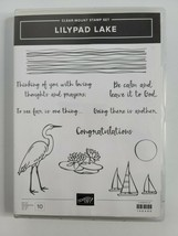 Stampin' Up! Lilypad Lake clear mount stamp set and Dies/Framelits Sailb... - $37.99