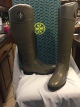 Tory Burch 'Ashlynn' Riding Boot Size 9M Taupe Lt Grey $495 Women's  New... - $350.00