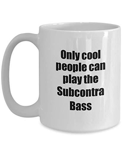 Primary image for Subcontra Bass Player Mug Musician Funny Gift Idea Gag Coffee Tea Cup 15 oz