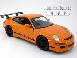 4.75 inch Porsche 911 / 997 GT3 RS Scale Diecast Model by Welly - Orange - $12.59