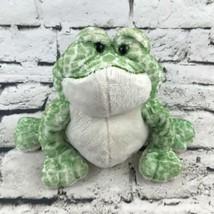 Webkinz Ganz Bull Frog Plush Green Spotted Fat Belly Stuffed Animal Soft... - $9.89