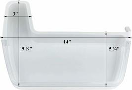 Left Door Shelf Bin DA97-08400A For Samsung RF4287HAPN/XAA-00 RF4287HARS... - $76.81