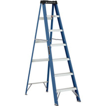 Patio Ladder Stairs Light Weight Durable Heavy Duty Aluminum Fiberglass ... - $84.30