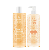 The Potted Plant Tangerine Mochi Body Lotion & Body Wash Duo